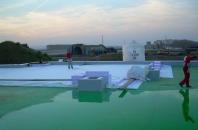 Vodotěsné izolace ploché střechy