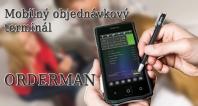 Mobilný objednávkový terminál ORDERMAN