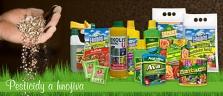 Malobalení agrochemikálií pro sadaře a zahrádkáře