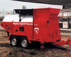 Recyklátory živice Bagela BA 7000 F