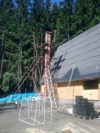 Dodání a montáž zděných komínových systémů