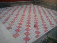 Pokládka dlažby (stavebný materiál)