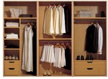 Vstavané skrine (ekologický bio nábytok)