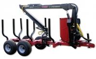 Farmi Forest - lesná technika (navijaky, štiepkovače, hydraulické ruky, štiepacie poloautomaty)