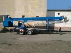 Prenájom prívesného žeriava - plošiny Bocker  36/2400