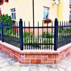 Kované ploty a oplocení