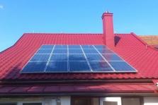 Fotovoltaické elektrárny a termální systémy na ohřev vody a přitápění