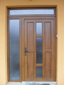 Plastové dvere Gealan
