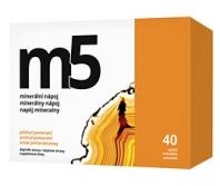 Minerálny nápoj M5  - účinne vápnik, horčík, zinok doplní