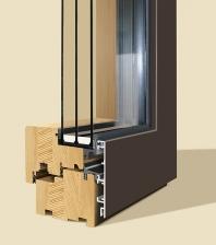 Dřevohliníková okna IV92 INTEGRALL