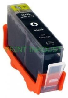 Černá inkoustová kazeta HP 364 (CB316EE), bez čipu