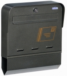 Poštovní schránka s přihrádkou na noviny