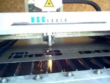 Řezání laserem,Lisování