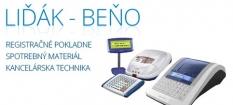 Registračné pokladne, spotrebný materiál a kancelárska technika