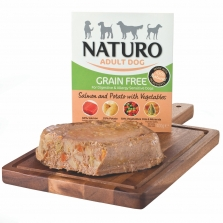 Naturo Adult dog Grain Free Salmon and Potato with vegetables