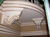 Zrestaurovaná balkónová výzdoba
