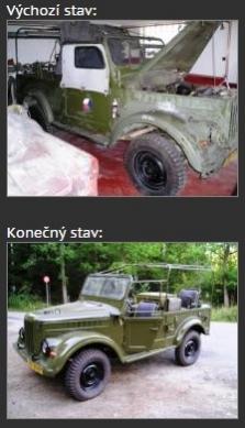 Renovace vozidel