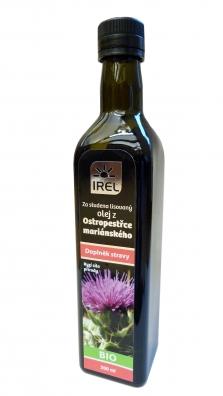 BIO Panenský ostropestřcový olej - doplněk stravy