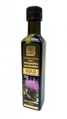 Panenský ostropestřcový olej Gold