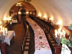 Vinný sklep Moravské banky vín Brno