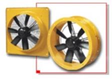"""Ventilátory v """"Ex"""" vyhotovení do výbušného prostredia"""