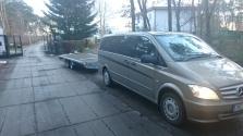 přeprava podvalníkem / dovoz vozidel