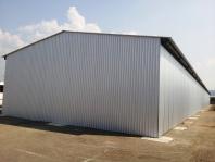 Oc. konštrukcia haly 4,2 x 12 x 88 m ( V x Š x D )