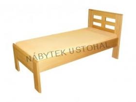 Jednolůžkové postele z masivu Moráček