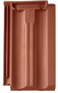 Keramická (pálená) taška Granát 11